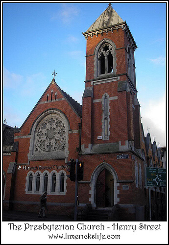 The second Presbyterian Church, Henry Street and Lower Mallow Street