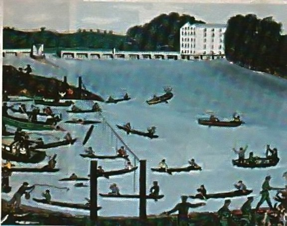 Battle of the Tail Race – The Abbey Fishermen