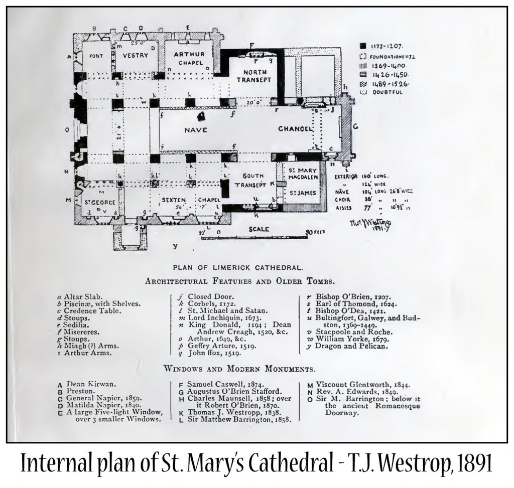 Plan of St. Mary's Cathedral