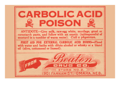 Carbolic Acid Poison