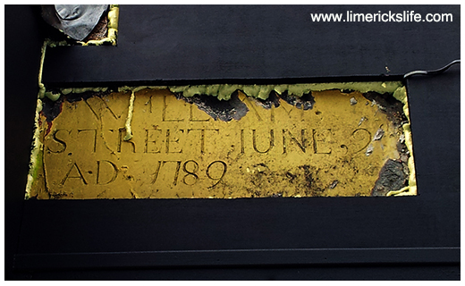 10 Historic Street Signs in Limerick
