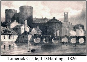The Castle as viewed in 1826