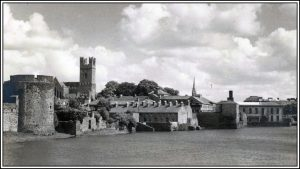 The Castle as viewed in 1950