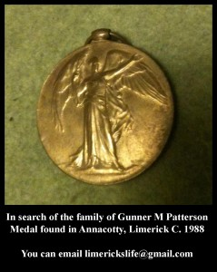 Patterson Medal