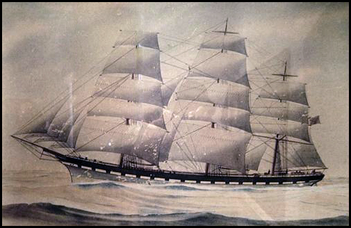 The Night of the Big Winds, the Ship Madras and a Letter in a Bottle