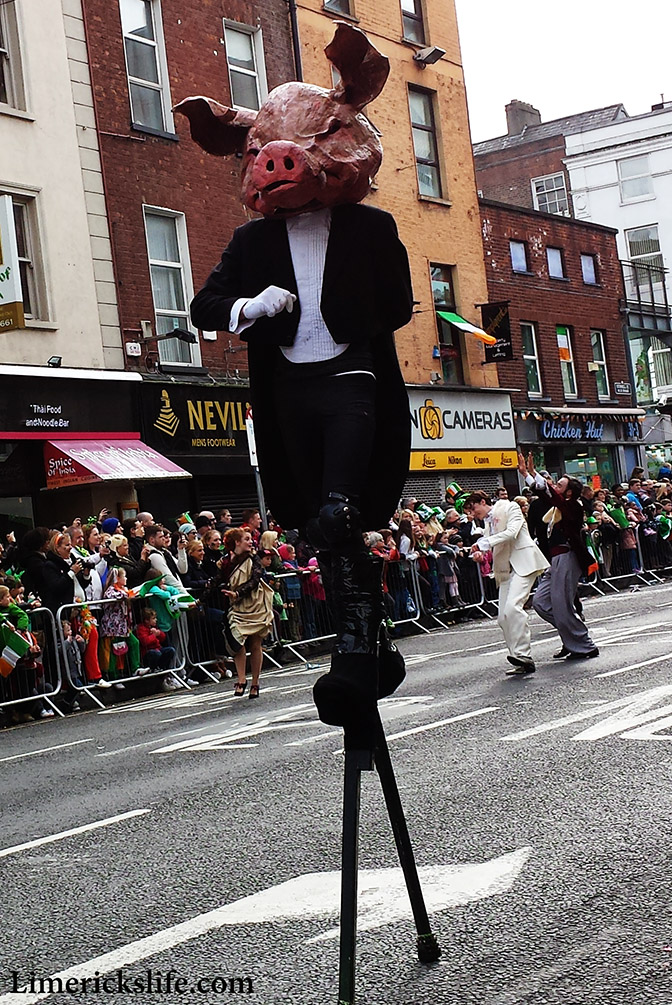 St. Patrick's Day Parade 2014 Time Lapse Video