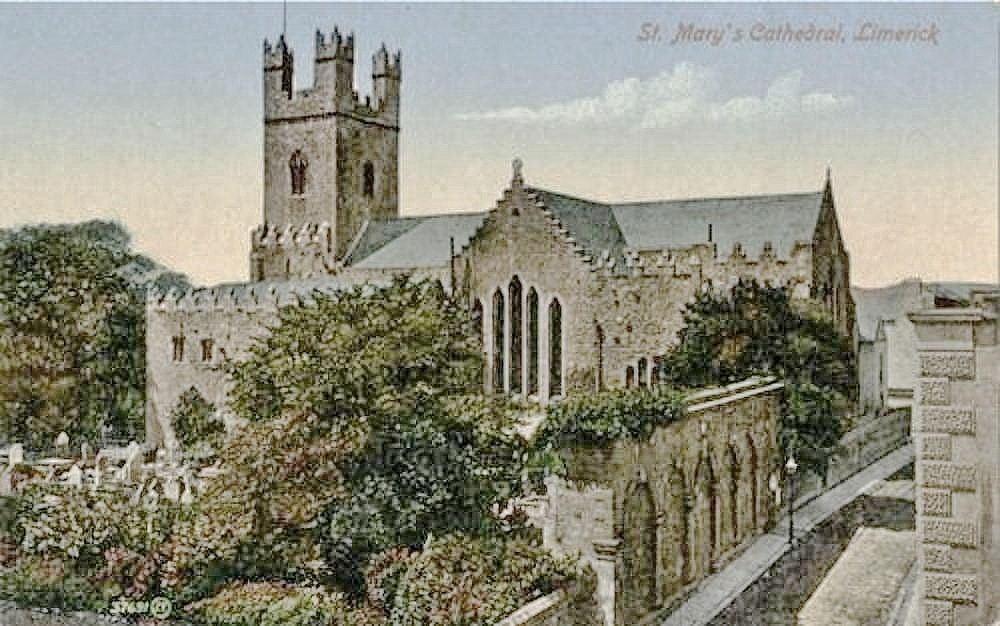 St Mary's Cathedral, postcard