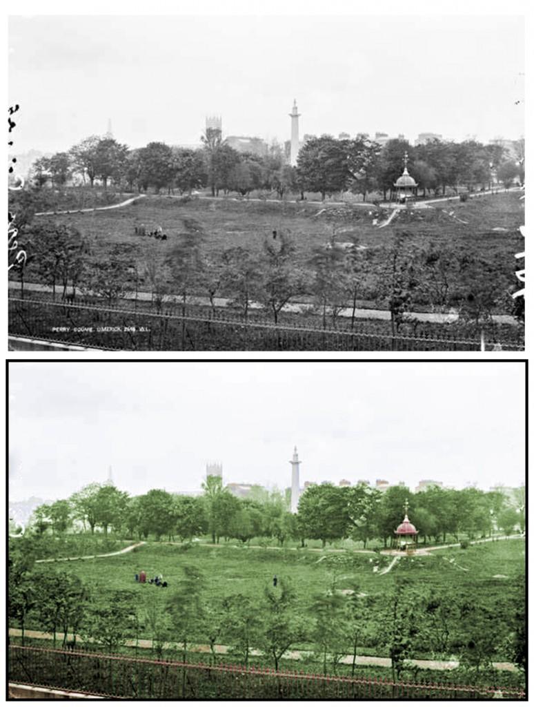 People's Park Colourised