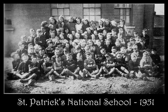 St Patrick's School 1951