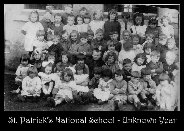 St Patrick's School year unknown