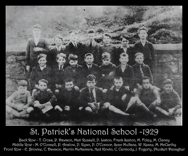 St Patrick's School 1929