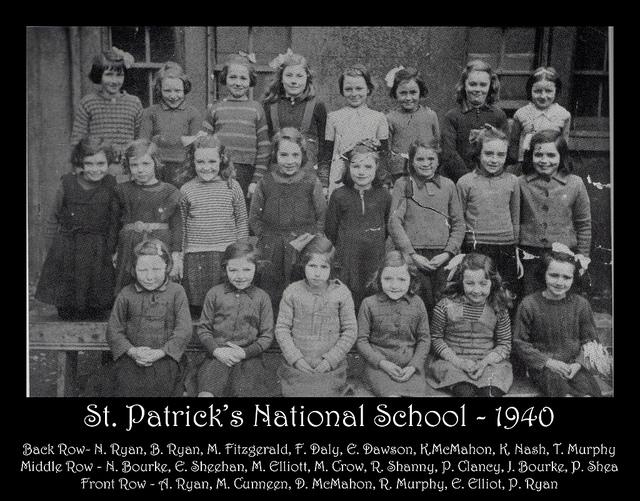 St Patrick's School 1940