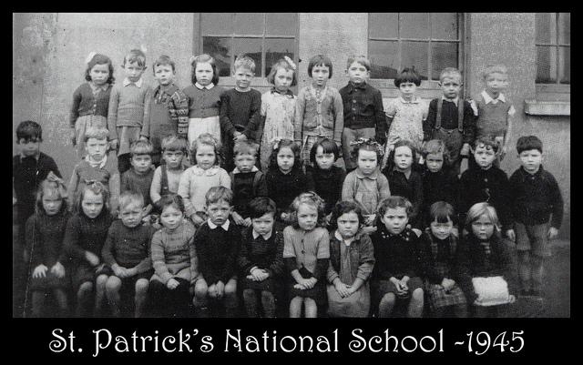 St Patrick's School 1945