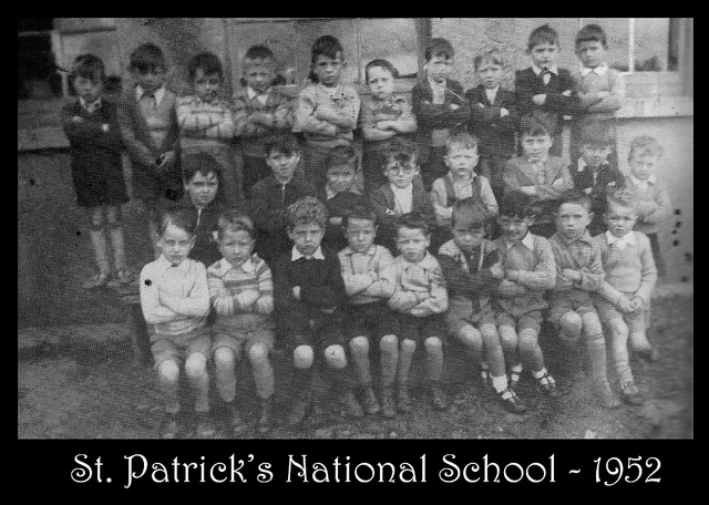 Photographs from St. Patricks National Schools 1920s-1950s