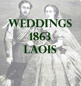 Laois Weddings 1863