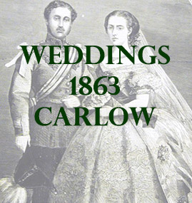 Weddings from County Carlow from 1863