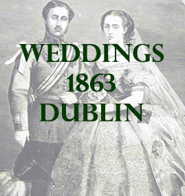 Dublin Weddings 1863