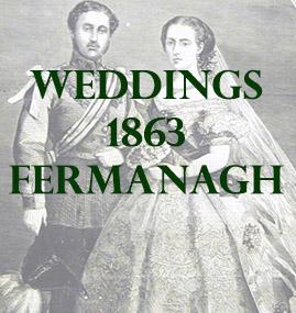Fermanagh Weddings 1863