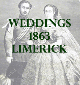Wedding in County Limerick, Ireland in 1863