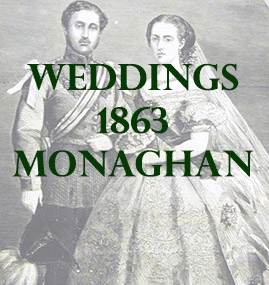 Monaghan Weddings 1863