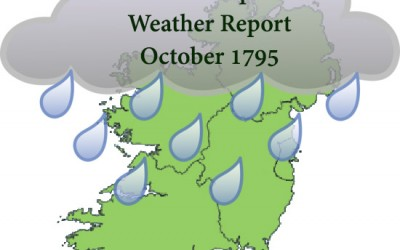 Dr Crump's October 1795 Weather Report