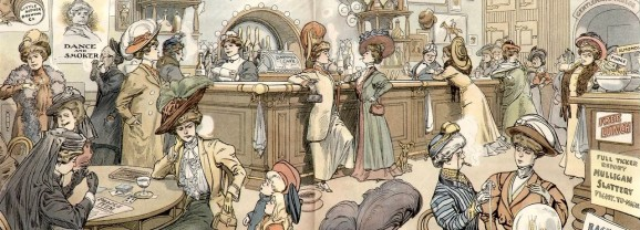 Women in Public Houses in 1909