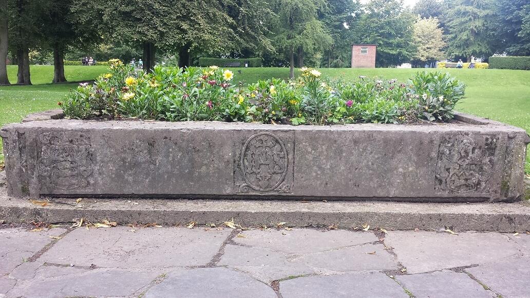 1648 Lintel as Flowerbed in People's Park