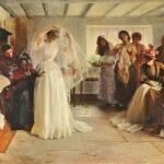 The Wedding Morning - John Henry Frederick Bacon, 1892. Lady Lever Art Gallery