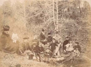 A family picnic in Limerick in the early twentieth century