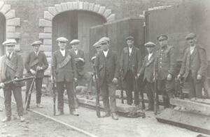 Limerick volunteers in 1921
