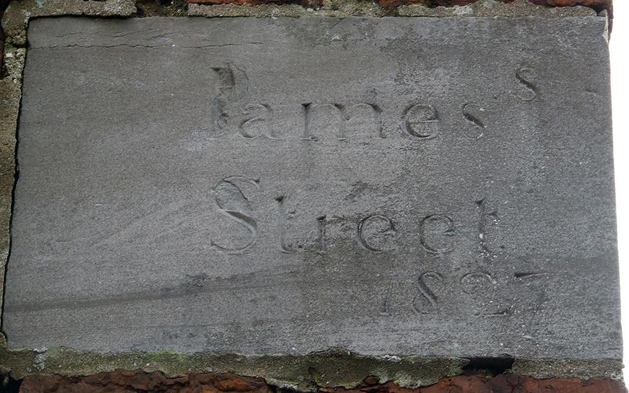 james street 1827