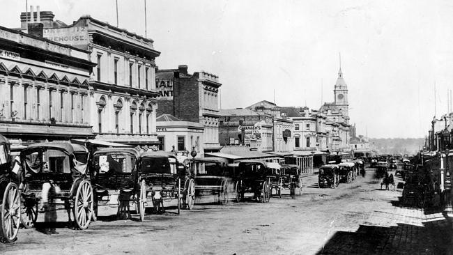 Limerick City in a report in a Melbourne Newspaper 1879