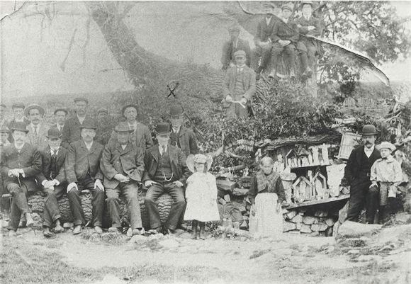 St Patrick's Well, Singland. C.1910. (Image: Limerick Museum)