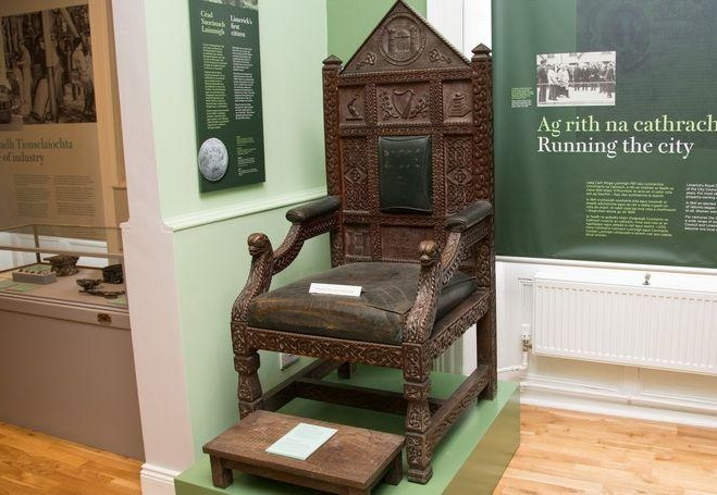 Limerick Museum on Henry Street – Video by Pat Howard