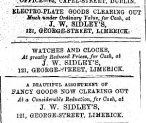 sidley adverts