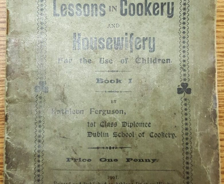 Who was Kathleen Ferguson, the author of multiple cookery books