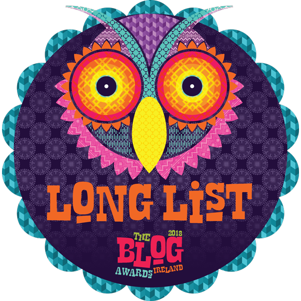 2018 blog awards ireland longlist