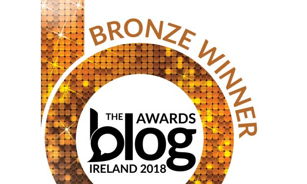 Double Bronze Award Winner – 2018 Blog Awards Ireland
