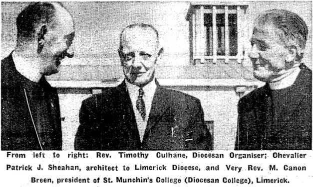 The opening of St Munchin's College, Corbally in 1963.