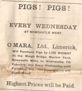 o'mara's advert 1920s