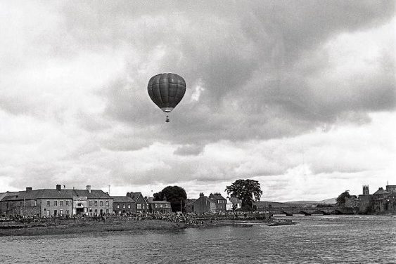 John Hampton and the Second Balloon Flight over Limerick