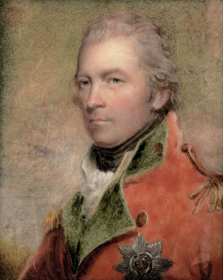 Charles Lennox, 4th Duke of Richmond. (image by Henry Collen 1823)