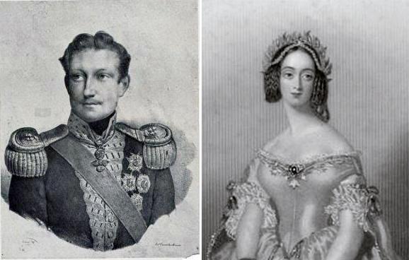 Penelope Smyth and Carlo Ferdinado di Borbonne, Prince of Capua
