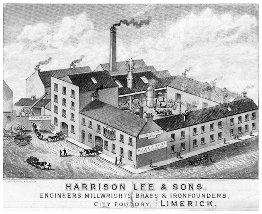 Harrison lee drawing of building